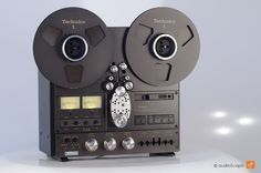 Technics RS-1506 4-Track Reel-to-Reel tape player (1979)