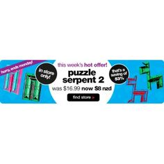 53% OFF Sale on Puzzle Serpent 2 @ Smiggle