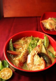 Thai Prawn Green Curry ~ Notions & Notations of a Novice Cook