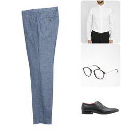 Pantalon en lin   le look de soirée Pantalon Lin Homme 600c8781a26