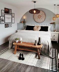Cozy Bedroom, Room Decor Bedroom, Bedroom Ideas, Awesome Bedrooms, Bedroom Styles, My New Room, Cozy House, Home Interior Design, Home Decor