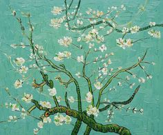 I Love - Van Gogh - Branches Of An Almond Tree In Blossom