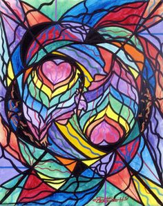 Authentic Relationship - Frequency Paintings - Teal Swan