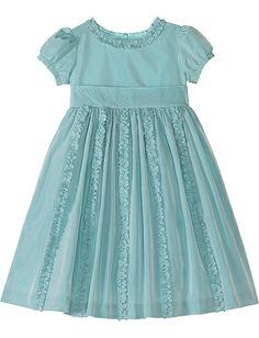 Luxe Taffeta Ruffle Dress (for the flower girl)