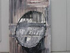 Abstrakcja - olej na płótnie
