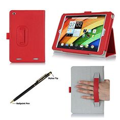 ProCase Acer Iconia A1-830 Tablet Case with bonus stylus pen - Flip Stand Folio Cover for Acer Iconia A1-830 Android Tablet (2014 released), Corner Protected, with Stand and Hand Strap (Red) ProCase http://www.amazon.com/dp/B00KNCA85C/ref=cm_sw_r_pi_dp_YpwXub1MGXFT8