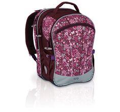 Plecak do szkoły dla dziewczyny nie musi być dziecinny- plecak Topgal od 1 do 4 klasy jest stonowany, posiada przepiękny motyw kwiatów. Kwiaty i fiolety, czego chcieć więcej :-)