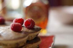 Banana Raspberry Pancake Recipe