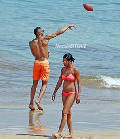 Russell Westbrook Enjoying His Vacation In Maui