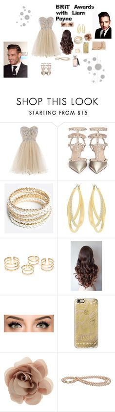 """Liam Payne"" by kadenirwin on Polyvore featuring Valentino, ZooShoo, Swarovski, Casetify, Accessorize, Payne, Komar, Chanel, women's clothing and women's fashion"