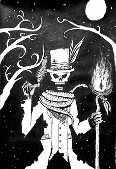 #inktober • Day 27 • Voodoo King