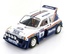 The MG Metro 6R4 as driven to 8th place in the 1986 RAC Rally by Jimmy McRae - Ian Grindrod.