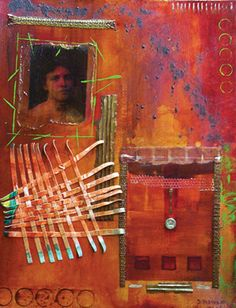 March 8 - Contemporary Collage Techniques with Sharon DiGiulio