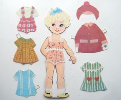 Do girls play with paper dolls nowadays?