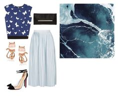 """""""Untitled #14908"""" by jayda365 ❤ liked on Polyvore featuring agnès b., Topshop and Glint"""