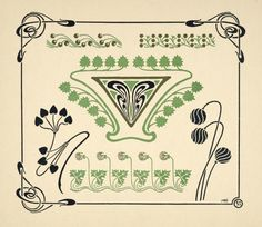 [Abstract design based on leaves and arabesques.] - ID: 1553716 - NYPL Digital Gallery