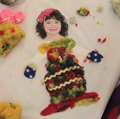 Inspiration Surrounds... Creativity Abounds: Playdough Dress Ups