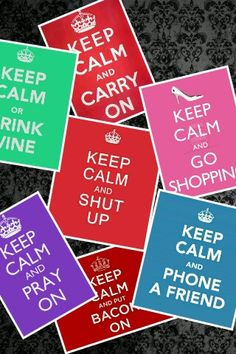 Keep calm and do everything on here :).