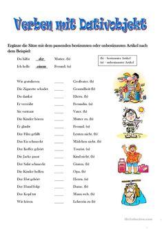 Verben Mit Dativ, Dativ Deutsch, German Grammar, German Language Learning, Learn German, Teacher, Classroom, Lettering, Professor