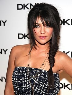 Looking for a little beauty challenge that could pay off with major cuteness? We have the hairstylist how-to for the fishtail braid that Jessica Szohr wore to an event this week--copy it, if you dare. Smart Hairstyles, Cute Simple Hairstyles, Easy Hairstyles For Long Hair, Hairstyles With Bangs, Pretty Hairstyles, Amazing Hairstyles, Hairstyles 2016, Jessica Szohr, Fishtail Braid Hairstyles