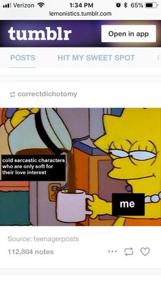 Taste in characters, fave character, simpsons relatable meme Funny Shit, Funny Stuff, Fandom Memes, Nerd Memes, Writing Memes, Book Memes, Comic, Funny Relatable Memes, Book Fandoms