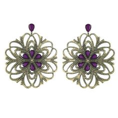 PILGRIM jewelry neiman marcus | Dorothy Perkins Abstract flower hoops earrings - review, compare ...