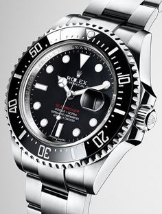 58189b55b5c The new Rolex Sea-Dweller in 904L steel with a black Cerachrom bezel in  ceramic