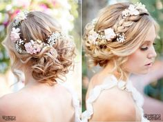 Letnia, rustykalna i bardzo romantyczna - oto propozycja dzisiejszej fryzury ślubnej.