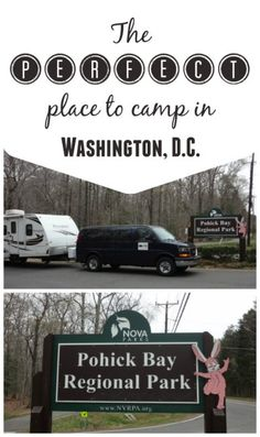 Looking for the perfect place to go camping near Washington, D.C.? Then check out Pohick Bay Regional Park for a great spot with easy access to the city.