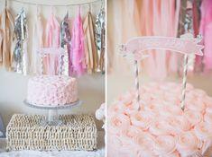 Pretty Pastel Baby Shower. Pretty Cake!! Wow!