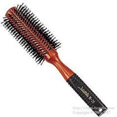 https://www.beauba.com/products/detail.php?product_id=11605 Sanbi R-25. #HairStylingTools #Brush  The anti-slip rubber handle lets you work faster and comfortably.