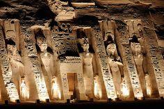 Nefatari Temple, Abu Simbel, Egypt,