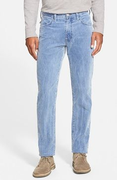 Agave 'Bicolor' Straight Leg Corduroy Pants available at #Nordstrom