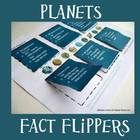 Here are 4+ fact flippers for your Solar System/Planets unit study.  Students love hands-on activities! There are three flipper pages with planet f...
