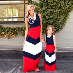 2017 Mommy and me family matching mother daughter dresses clothes striped mom and daughter dress kids parent child outfits Buy now for $ 9.09   #pintowin #shopping #fashion #style #musthave #ootd #fashionmodel #utilityjacket #falloutfits #falllook #lookbook #ootd #casualoutfit #casualstyle #casualootd #sochic #eshopoly