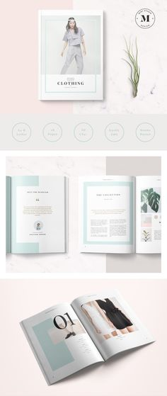 Flora Lookbook by Mint Studio on @creativemarket