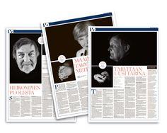 European Newspaper Award Minun aikani -juttusarjassa suomalaiset vaikuttajat pohtivat, miten maailma on muuttunut heidän aikanaan.