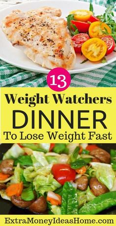 The Best 13 Weight Watchers Meals to Lose Weight and Stay Fit. These 13 Best Weight Watchers Meals Taste Great Too Weight Loss Meals, Weight Watchers Meals, Healthy Weight Loss, Losing Weight, Weight Gain, Reduce Weight, Weight Control, Ketogenic Diet Meal Plan, Diet Meal Plans