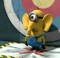 minion Elephant A Cute Collection Of Despicable Me 2 Minions | Wallpapers, Images & Fan Art