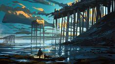 Quentin Regnes - Island bridge