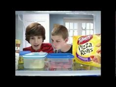Totino's Pizza Rolls Commercial - Freezer. . . Watch what he does with the phone after hanging up!!!!