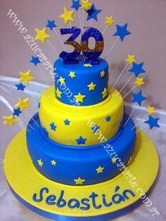 Torta Boca Cupcake Cookies, Cupcakes, Sport Cakes, Ideas Para Fiestas, Nachos, Cake Designs, Birthdays, Birthday Cake, Candy