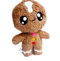Big Fluse Kawaii Plush Gingerbread Man Cute Stuffed von Fluse123