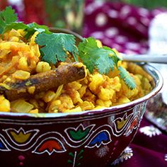 A delicious and healthy side to try on Braai Day: samp curry.