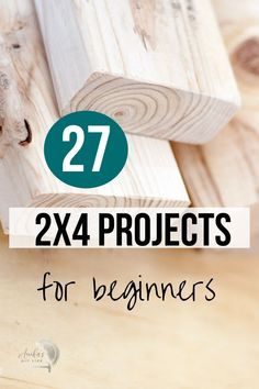 Wow! Love all these projects! If you are looking for easy DIY 2x4 woodworking projects, don't miss this! Includes outdoor projects, furniture - simple scrap wood ideas and more! #anikasdiylife #woodworking 2x4 Wood Projects, Woodworking Projects That Sell, Diy Furniture Projects, Outdoor Projects, Woodworking Tips, Wood Crafts, Diy Crafts, Funky Junk Interiors, Wood Working For Beginners