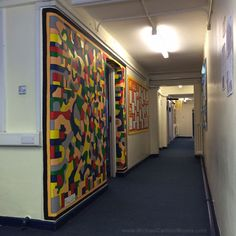 Mural at St. Anne's Primary School by Artist Michael Carlton St Anne, Primary School, Divider, 10 Years, Room, Furniture, Home Decor, Art, Bedroom