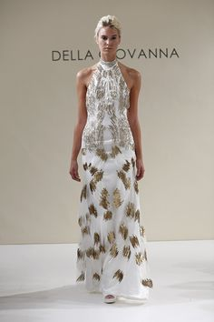 @weddingwire is loving @dellagiovanna's bridal gowns, how could they not be!