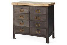 Gresham 8-Drawer Chest 36x16x34 $1249