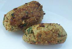 DIY - Kibbeh (bulgur and ground beef dumplings) Get the recipe on JoyofKosher.com