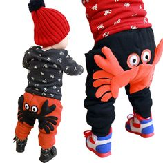 >> Click to Buy << Baby Boys Pants Winter Warm Harem Baby Girl Pants A Crab With Thick Cotton Baby Boy Trousers  #Affiliate